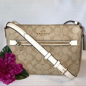 COACH Gallery Bag in signature canvas